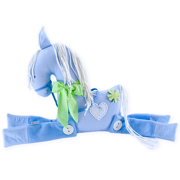 Ihana iso sininen hevonen