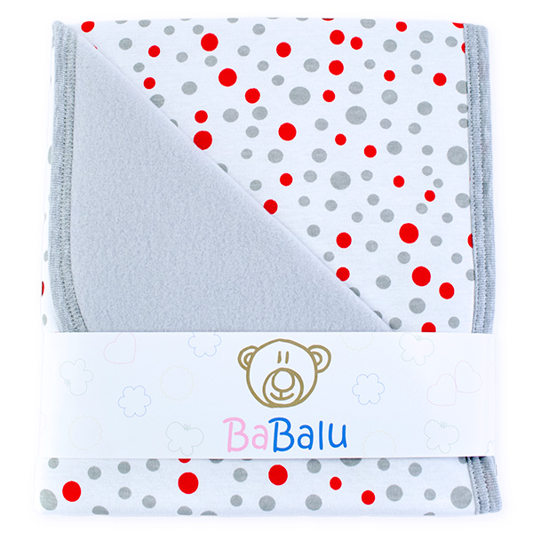 Baby fleece-cotton blanket 016 dots