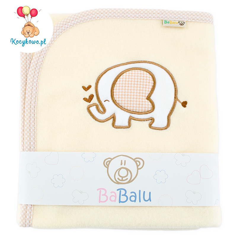 Fleece blanket Elephant 03