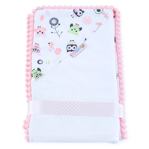 Cotton blanket Love you 071 owls