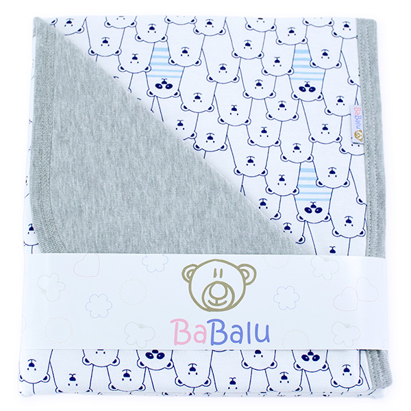 Cotton blanket Sophie 073 funny bears 80x90