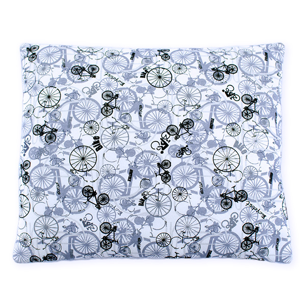 Cotton pillow 076 Sophie bicycles 28x34