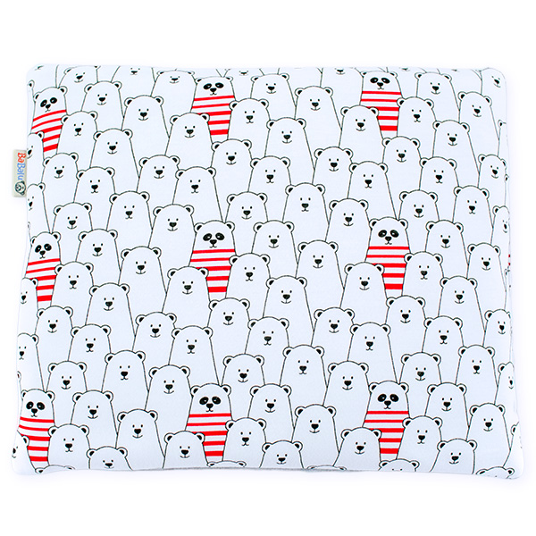 Cotton pillow 076 Sophie funny bear 28x34