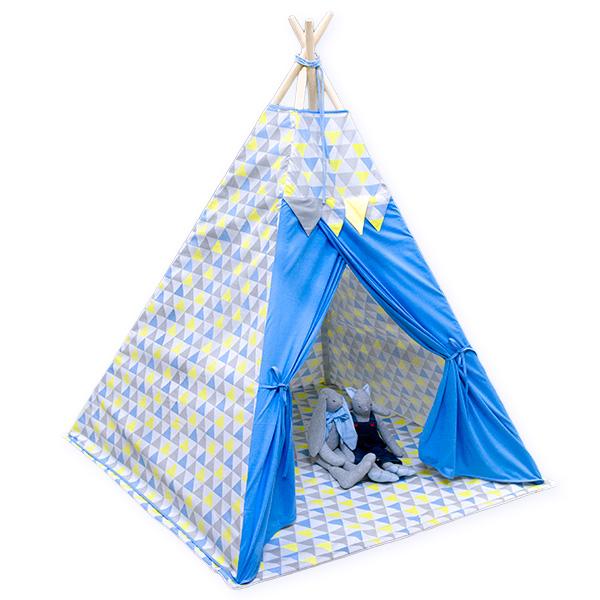 TIPI teltta sininen kolmio